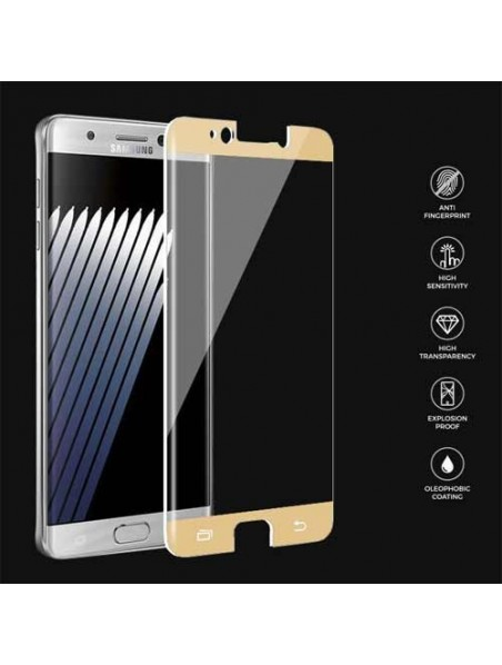 Screen Protector - Samsung Note 7 PRODIGEE Tempered Glass Gold