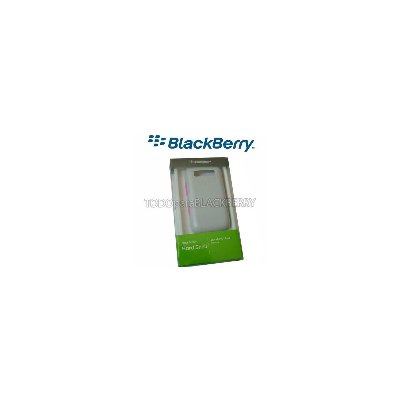 Hardshell Protector Blackberry 9700 9780 Bold Gris-Rosa