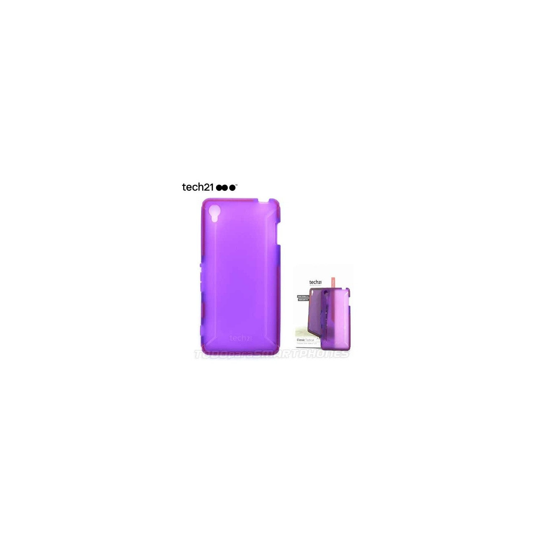 Funda TECH21 Classic Tactical Sony Xperia Z3 Violeta traslucido