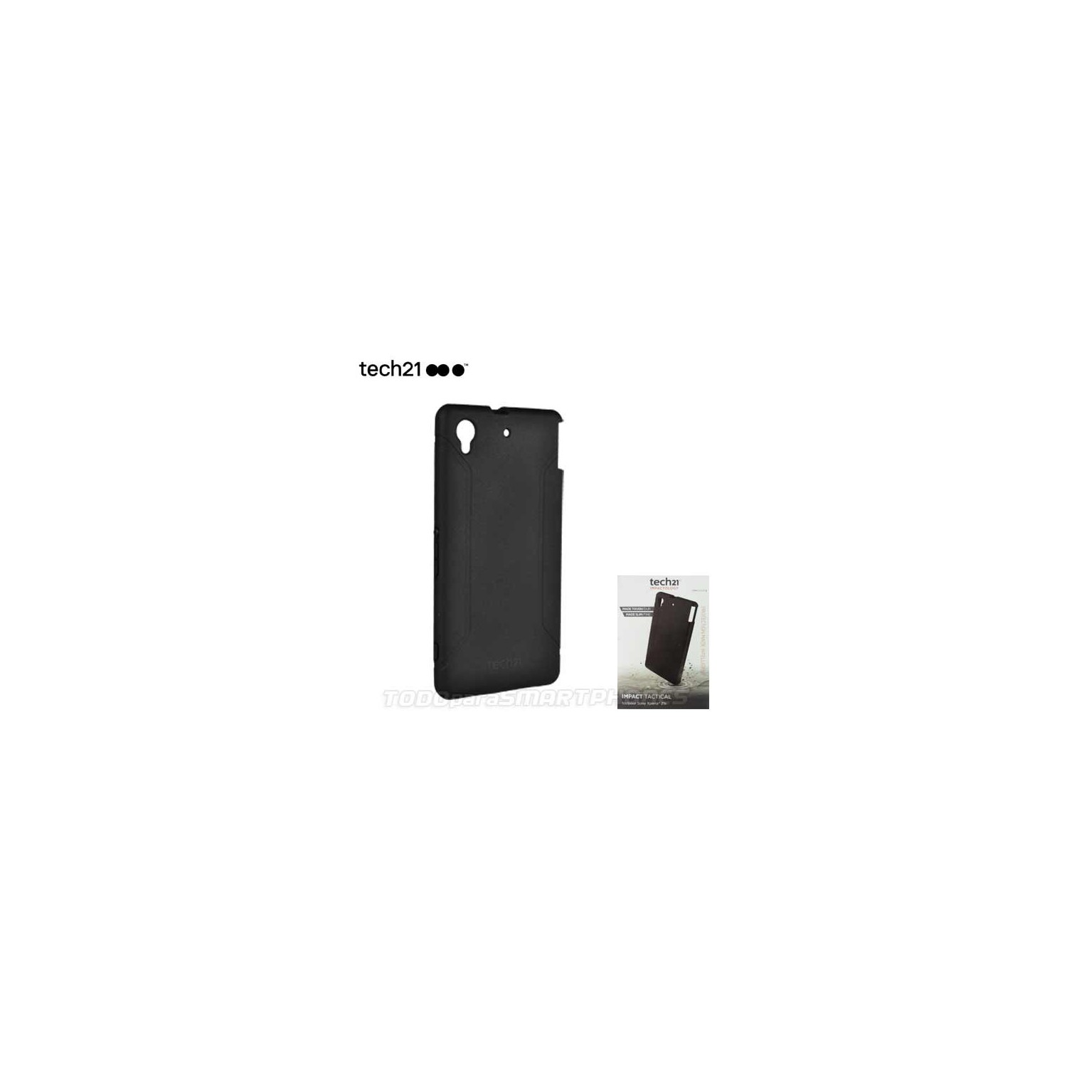 Case - TECH21 Impact Tactical for Sony Xperia Z1s Black