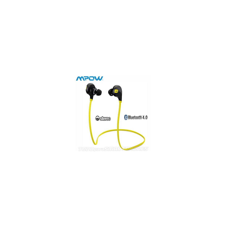 MPOW Swift Bluetooth 4.0 Wireless Sport Headphones BLK/YELLOW