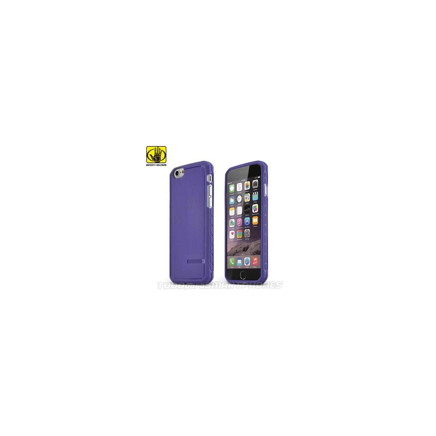 Funda BODY GLOVE iPhone 6s/6 Satin Violeta