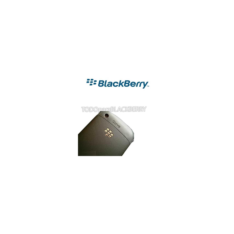Tapa de Batería Blackberry 9300 Curve 3G Gris Obscuro