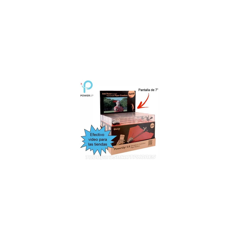 PowerUp exhibidor para punto de venta