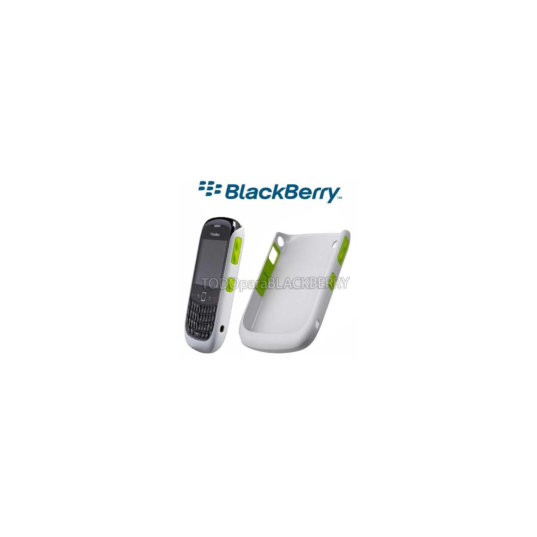 Hardshell Protector Blackberry 9300 8520 Gris Verde