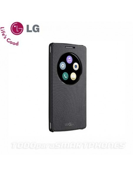Case - LG G3 Vigor Quick Circle Snap-On Folio Case - Black