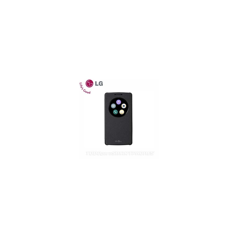 Funda LG Circle Snap LG G3 S Vigor Original Negra