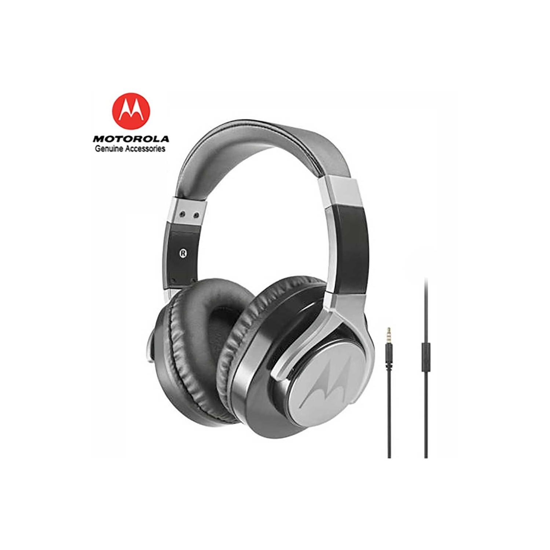 Headset - MOTOROLA OEM Pulse Max Black Stereo 3.5mm Universal