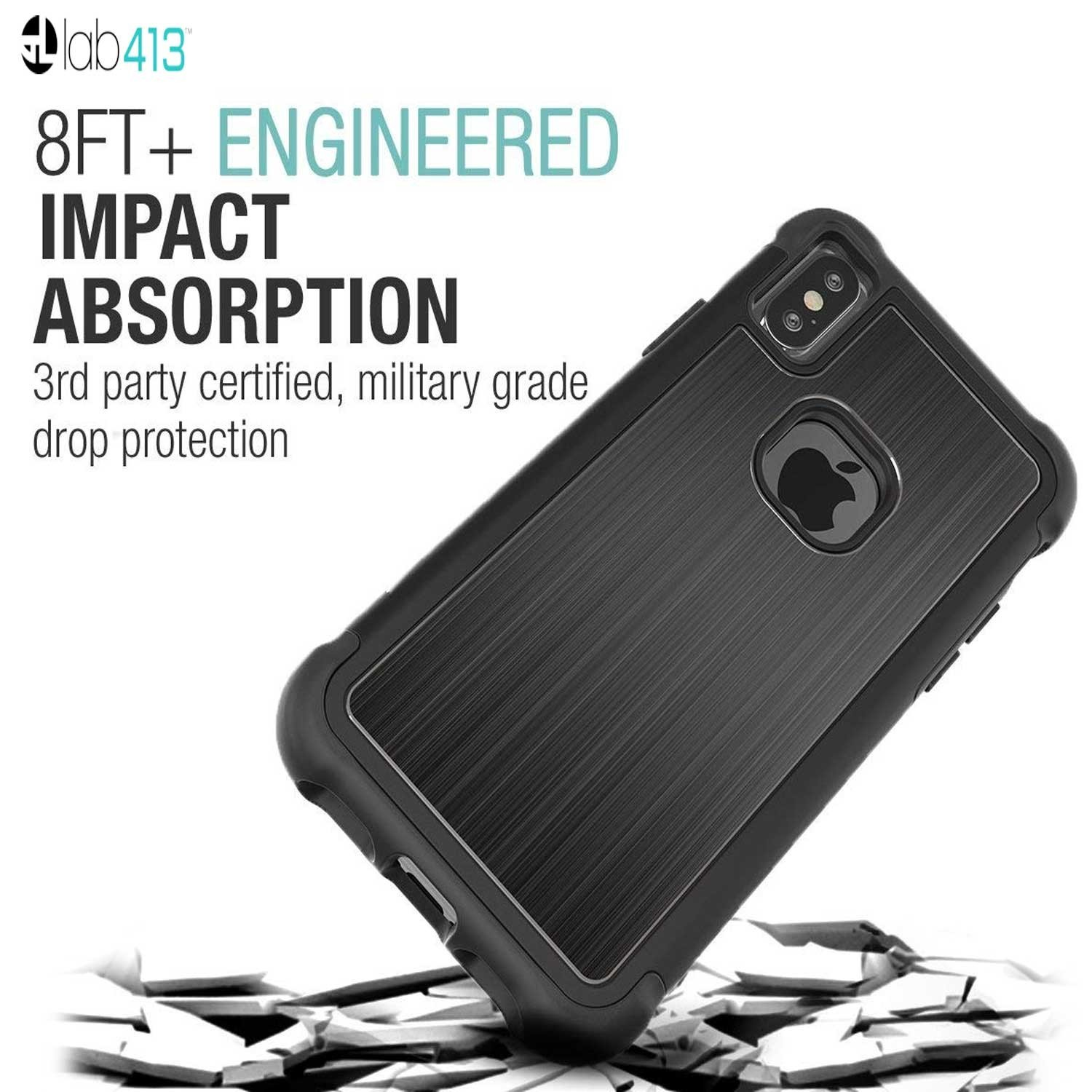 Case Lab413 Tungsten Tough Jacket for iPhone X