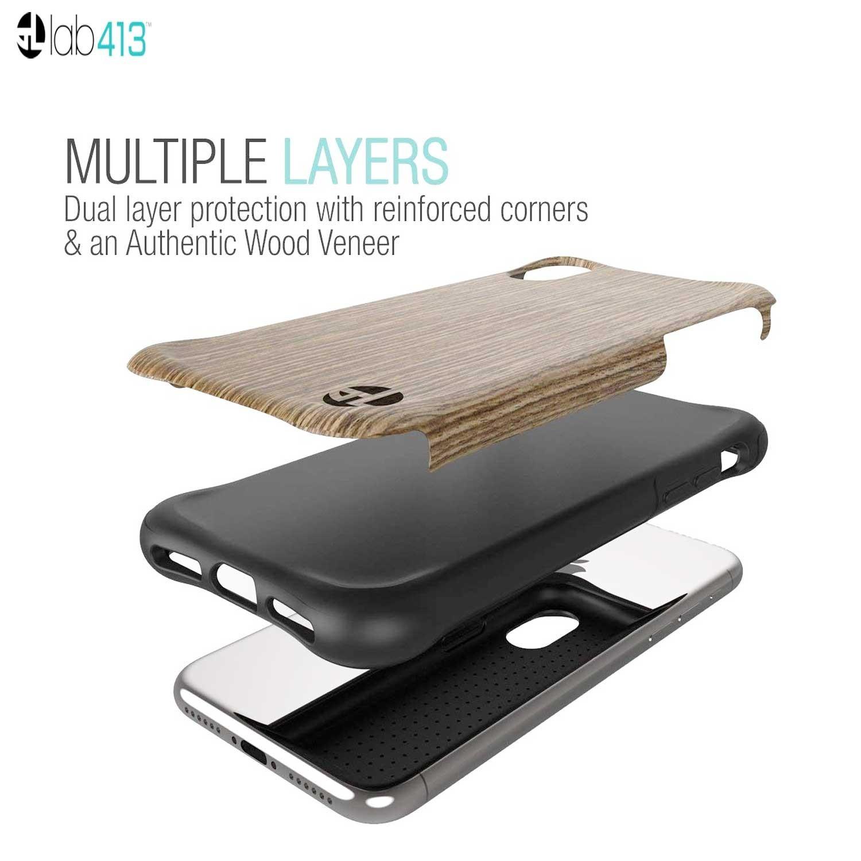 Case Lab413 for iPhone X - Urbanite Black