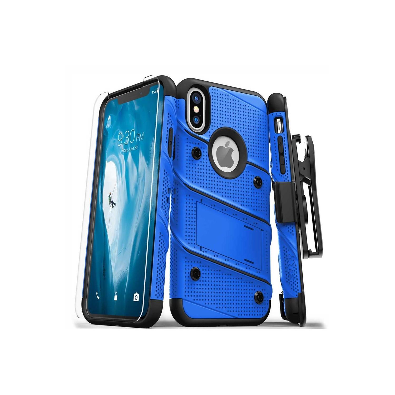 Funda ZIZO Bolt iPhone Xs MAX Azul/Negro