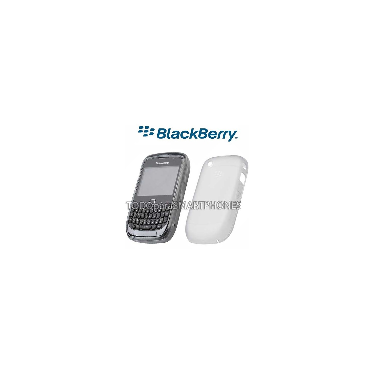 Softshell TPU Blackberry 8520 9300 Blanco HDW-34163-002