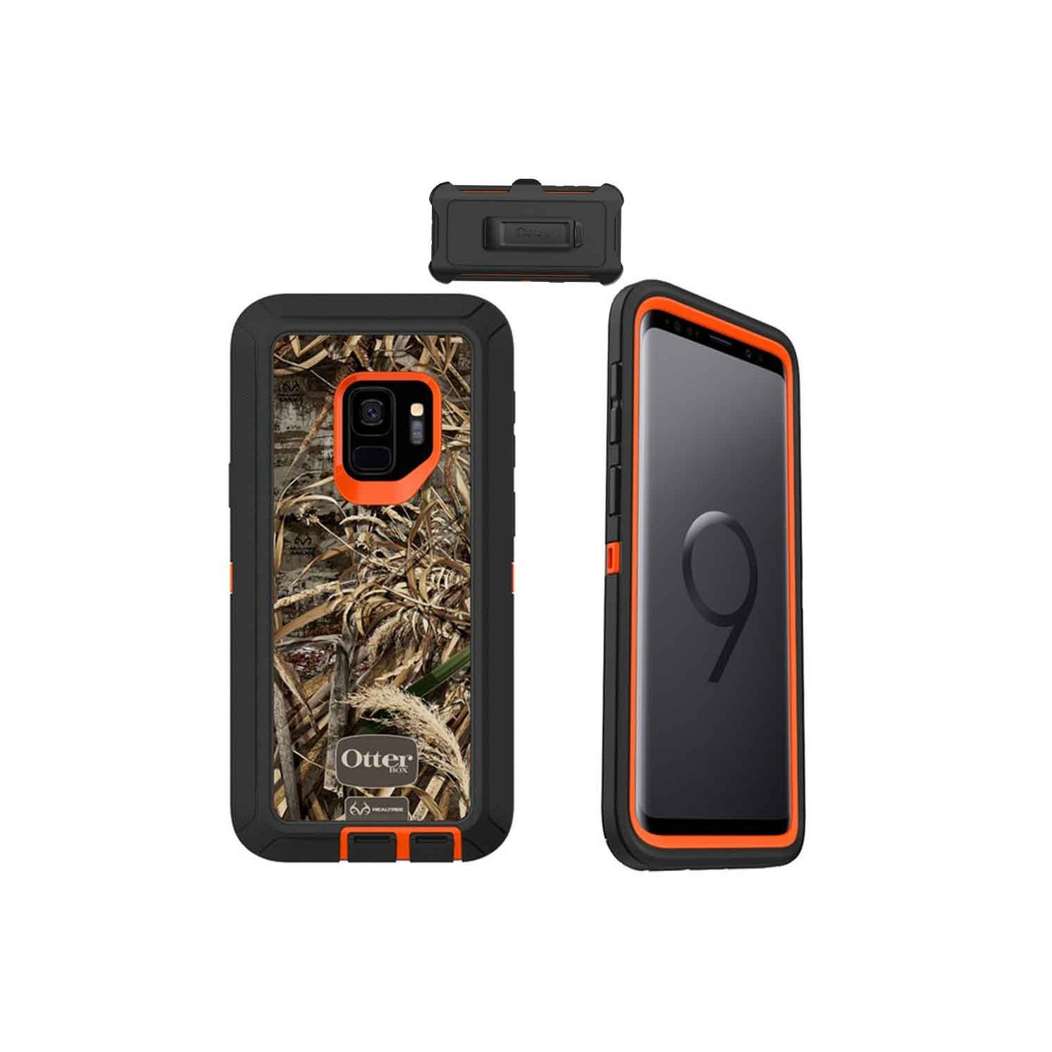 Case - Otterbox Defender for Samsung S9 Realtree