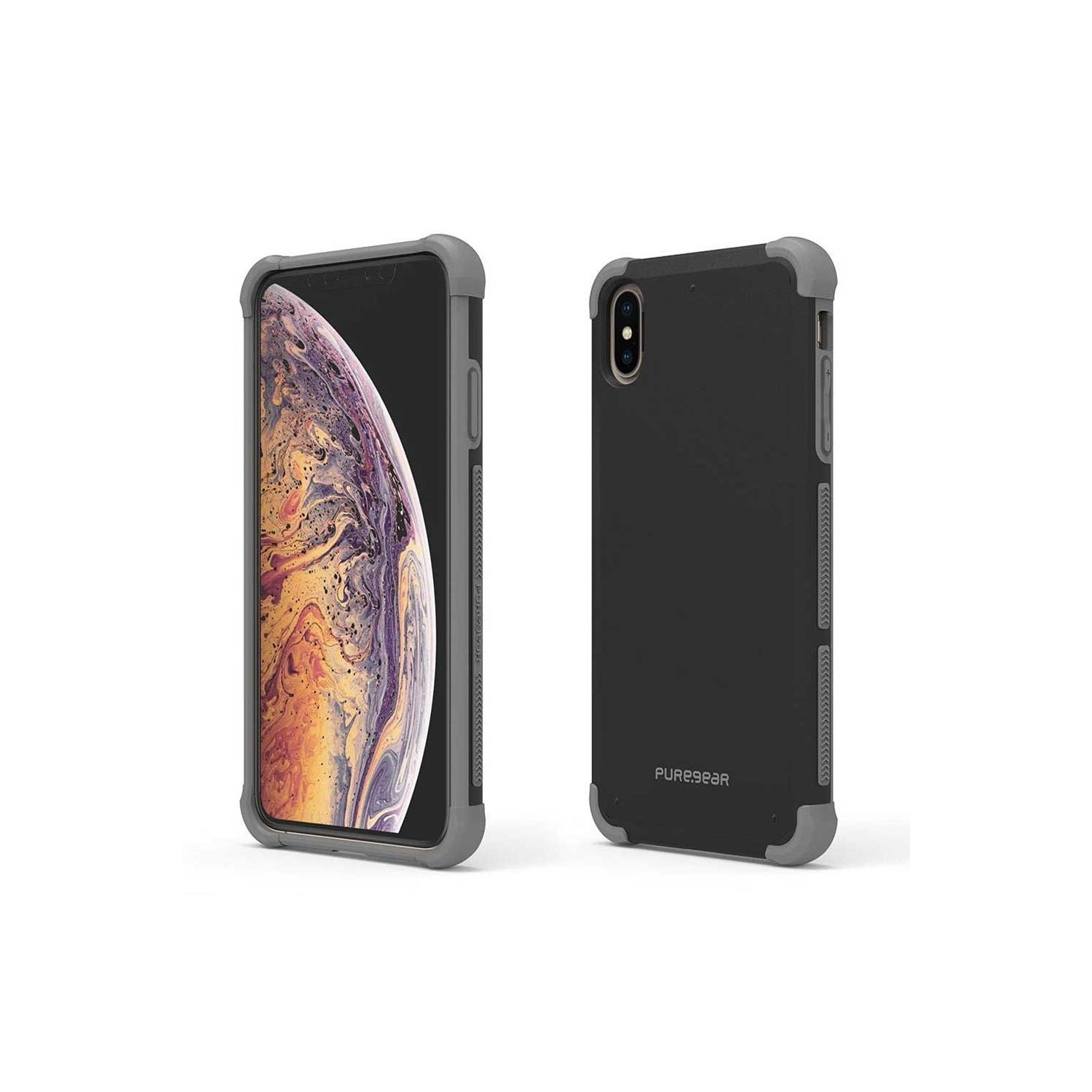Case - Dualtek Extreme Puregear for iPhone X - Black