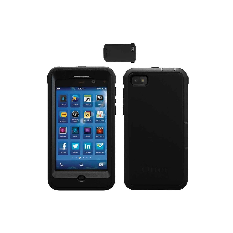 Funda OTTERBOX Defender Blackberry Z10 Negra Uso Rudo