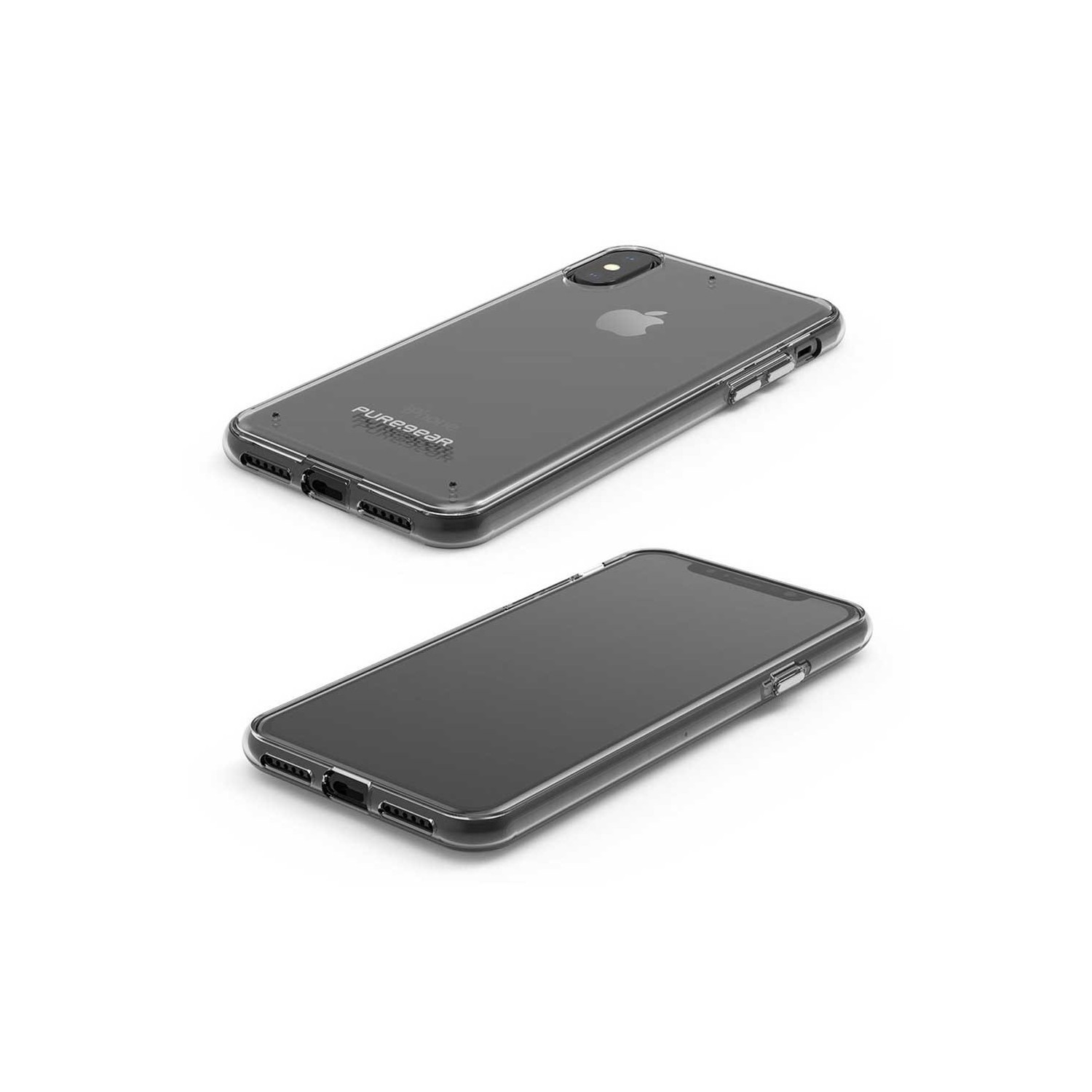 Case - Slimshell Puregear for iPhone Xs/X - Clear / Clear