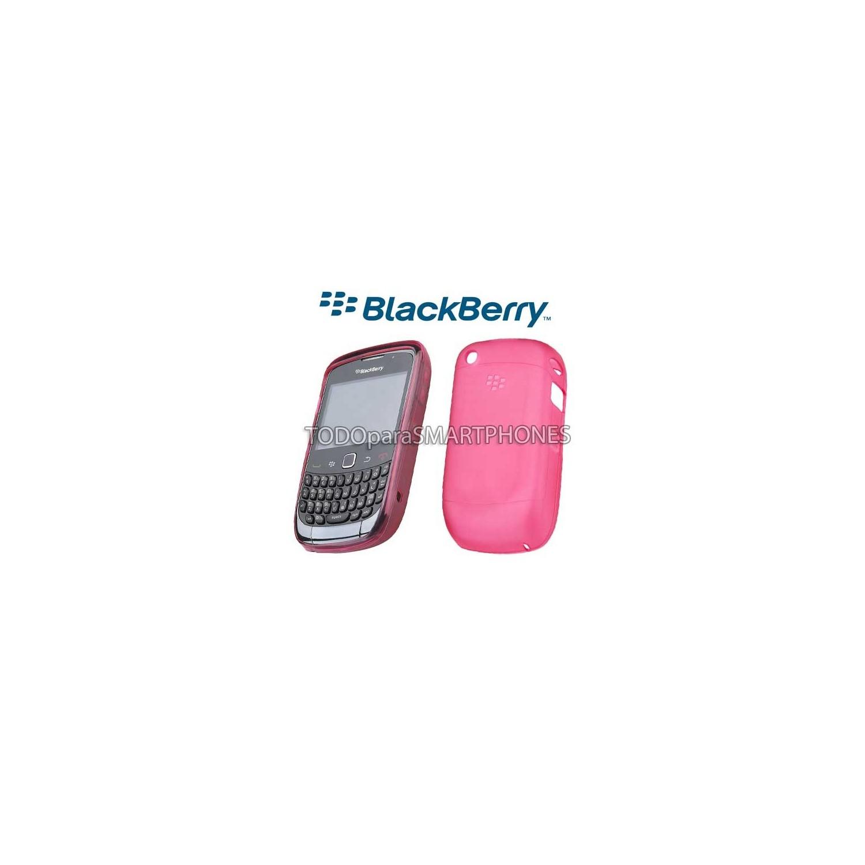 Softshell TPU Blackberry 8520 9300 Rosa HDW-34163-003