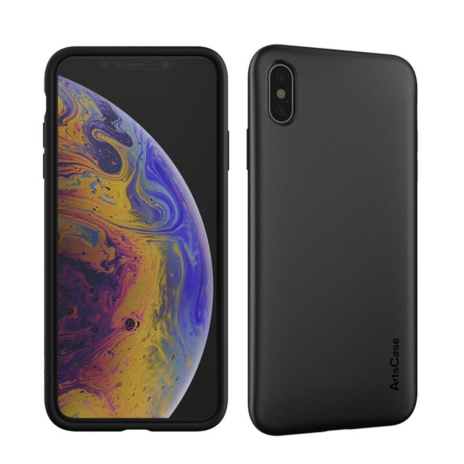 Funda ARTSCASE StrongFit iPhone Xs MAX Negra