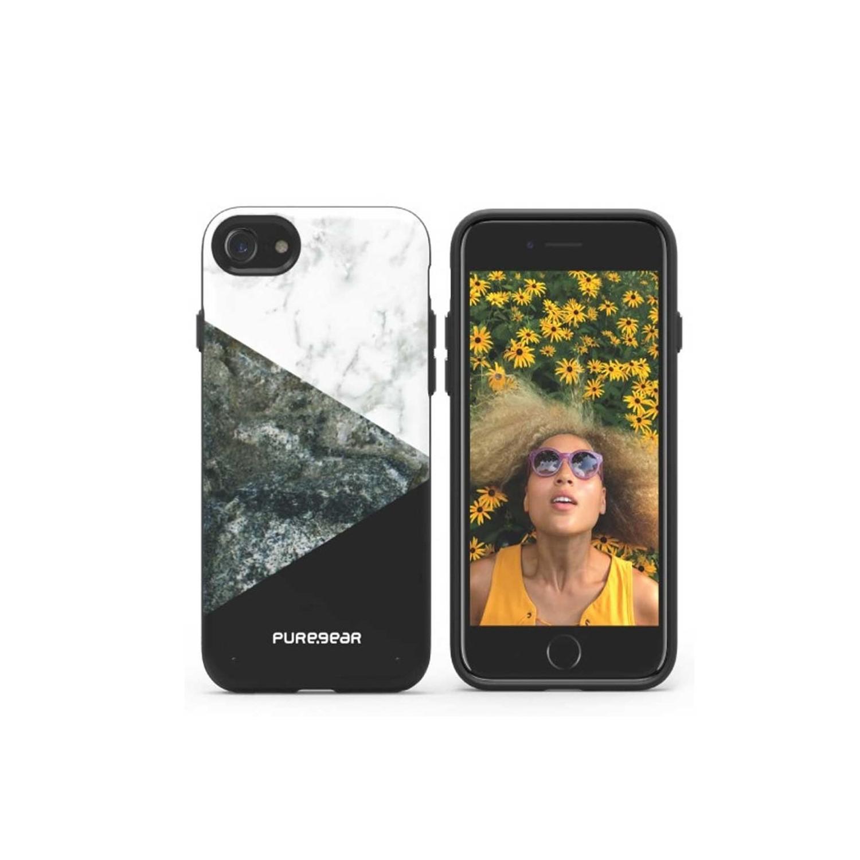 Funda PUREGEAR iPhone 8 / 7 Motif Negro Piedra