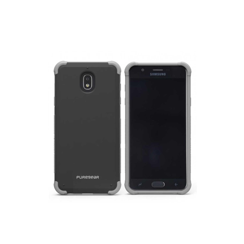 Funda PUREGEAR para Samsung J7 2018 Dualtek Negra - Uso Rudo