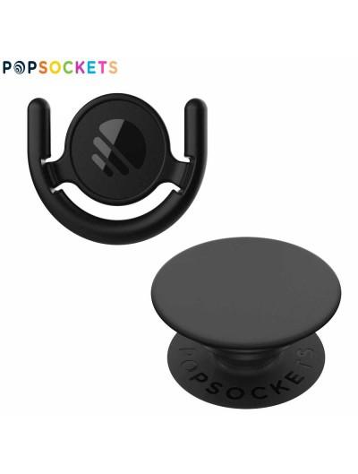 Soporte POPSOCKETS Combo Base + Popsocket negro UNIVERSAL