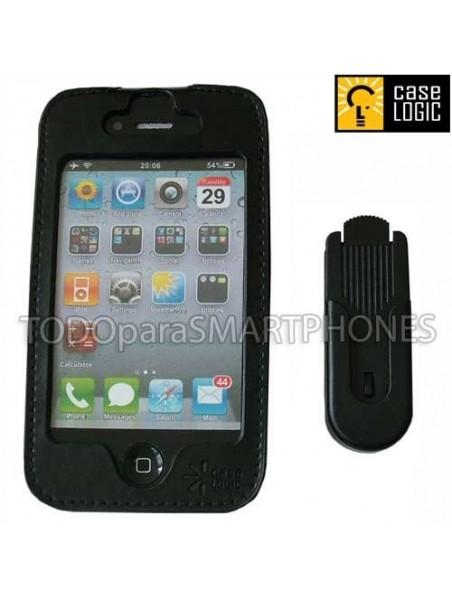 Funda con Clip Giratorio para iPhone 4 / 4S Case Logic