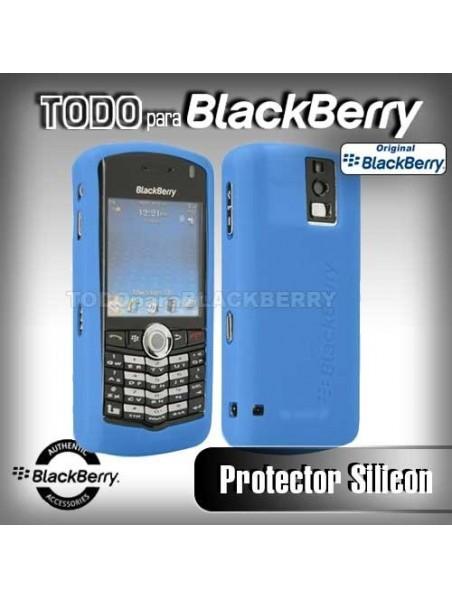 Funda Protector Silicon 8100 Azul