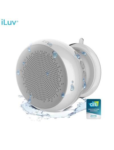 Bocinas ILUV Bluetooth para Regadera Unversales Blanca