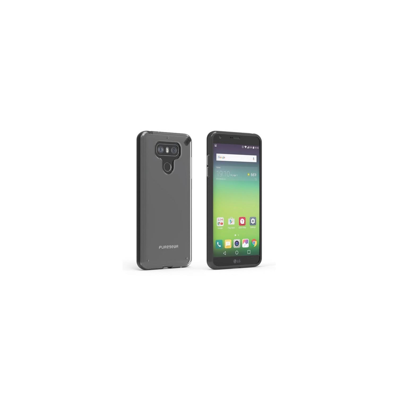 Funda Puregear Slimshell LG G6 Transparente borde Neg