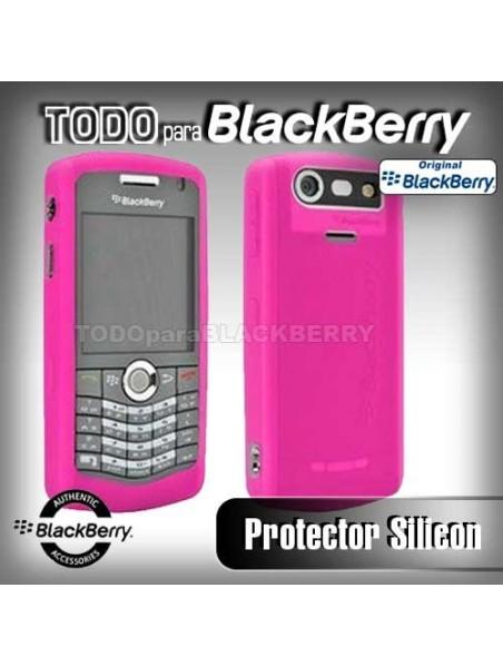 Funda Protector Silicon 8110 8120 8130 Rosa Fuerte