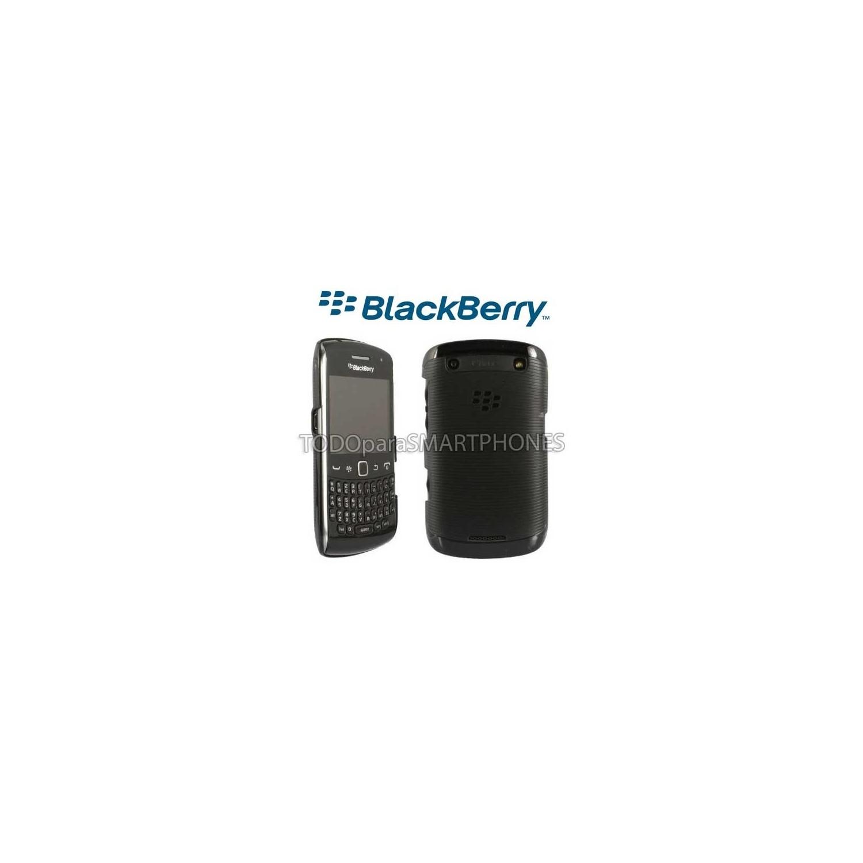 Hardshell Protector Blackberry 9350 9360 NEGRA