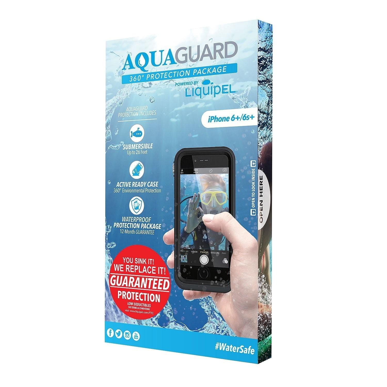 . Funda LIQUIPEL AquaGuard contra agua para iPhone 6 PLUS y 6s PLUS Negra