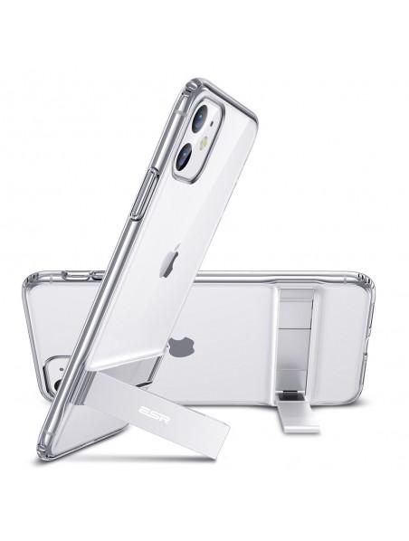 . Funda ESR Air Shield Boost para iPhone 11 Transparente Kickstand