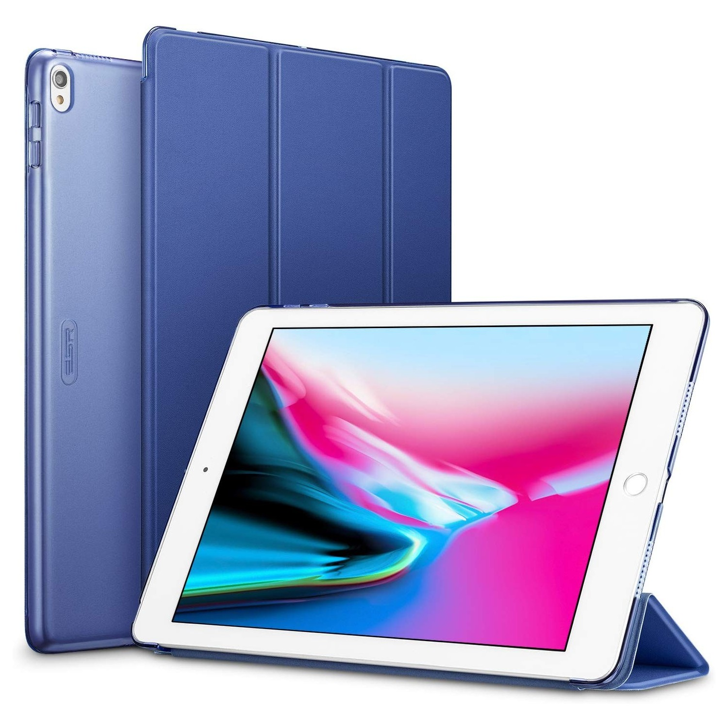 "Case - ESR Yippee for iPad Pro 10.5"" Air 10.5"" Blue A1701 A1709 A2152 A2123 A2153 A2154"