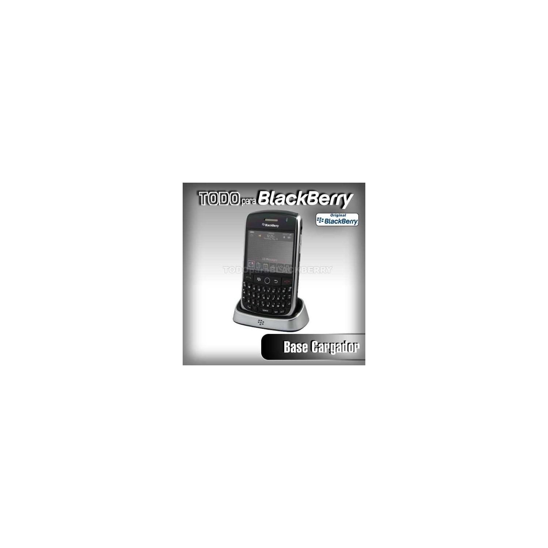Base de Escritorio 8900 cargador Original Blackberry ASY-14396-003