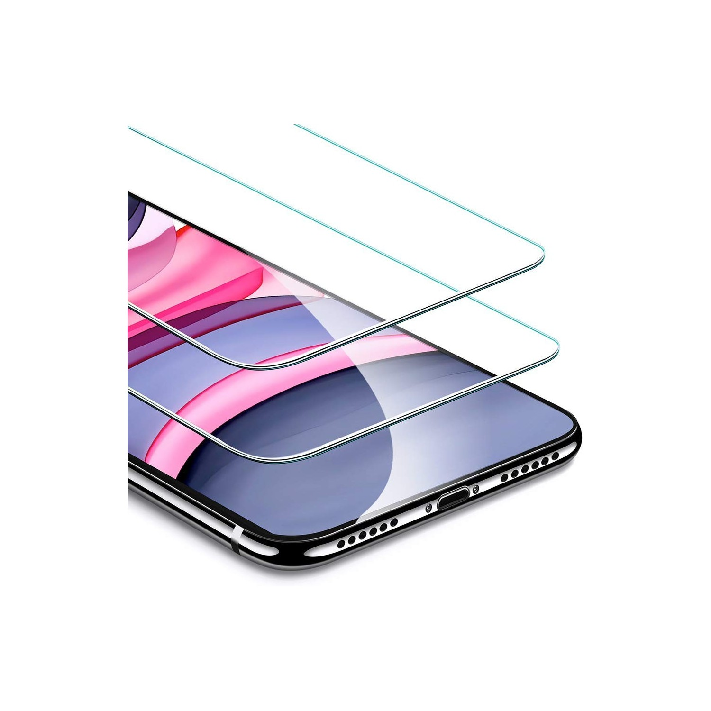 Mica Vidrio ESR para iPhone 11 e iPhone XR (paquete de 2 pza) Transparente Protectora de pantalla