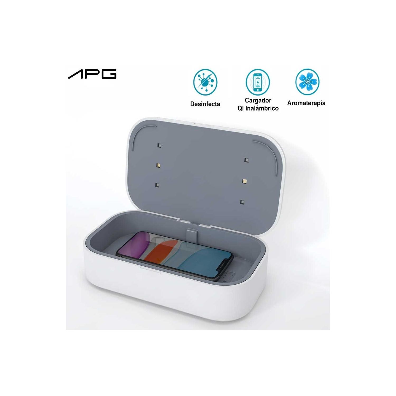 APG UV Sterilizer and QI Wireless Charging Pad