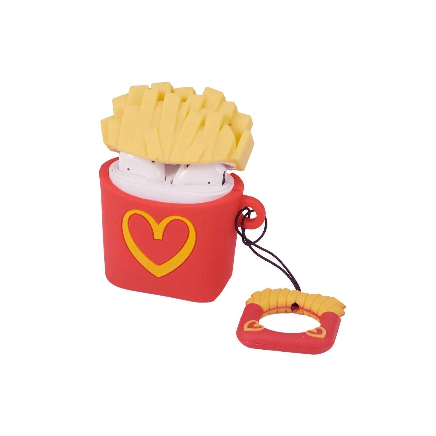 Case compatible for Apple AirPods 1 & 2 - Fries