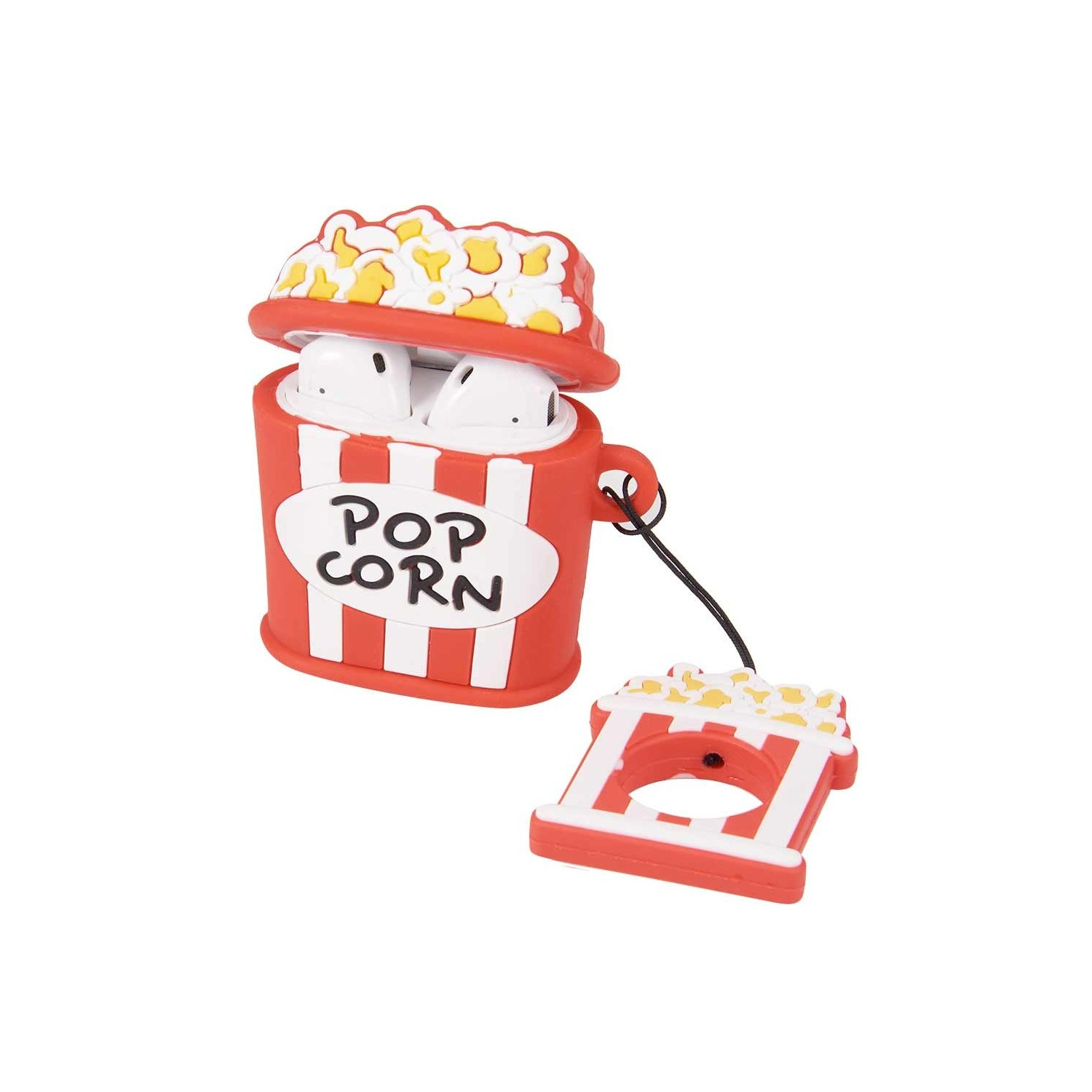 copy of Case compatible for Apple AirPods 1 & 2 - Popcorn