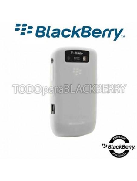 Funda Protector Silicon 8900 Javelin Original Blackberry skin 8900 Silicones Color - Blanca