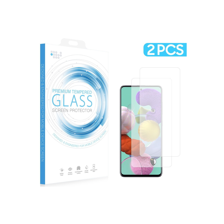 Mica Vidrio DW para Samsung A51 Paq. 2 piezas Protectora de pantalla
