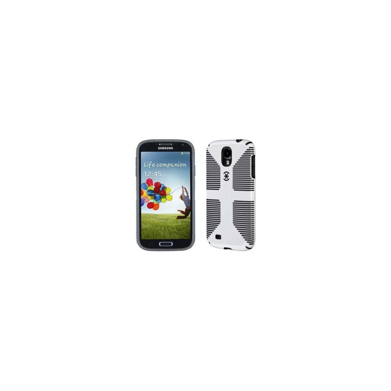 . Funda SPECK Samsung S4 Candyshell Grip Blanco Negro
