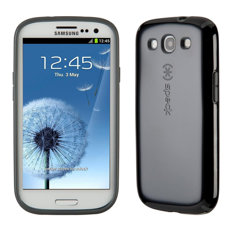 . Funda SPECK Samsung S3 Candyshell Negro