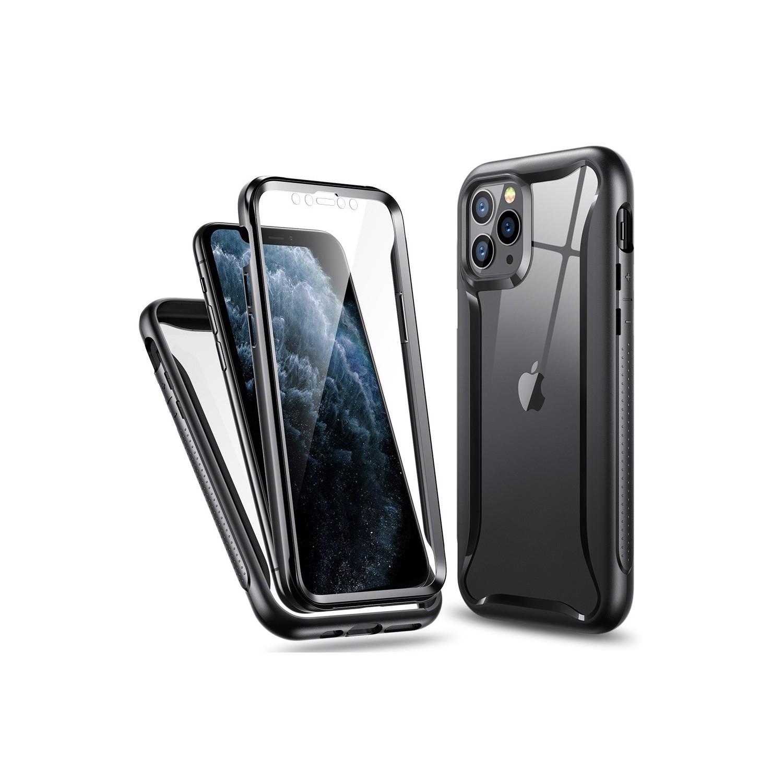 . Funda ESR Hybrid Armor 360 para iPhone 11 PRO MAX Transp Negro