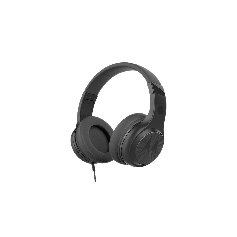 Manos Libres MOTOROLA Pulse 120 NEGRO 3.5mm Audifonos alámbricos Stereo Universal
