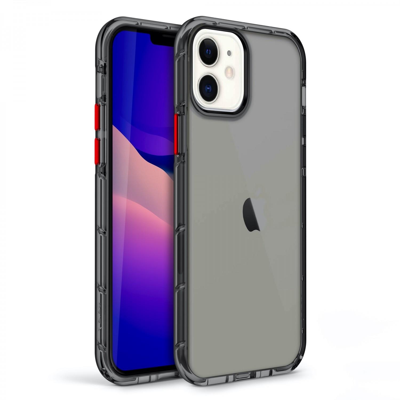. Funda ZIZO Surge para iPhone 12 y 12 PRO Humo