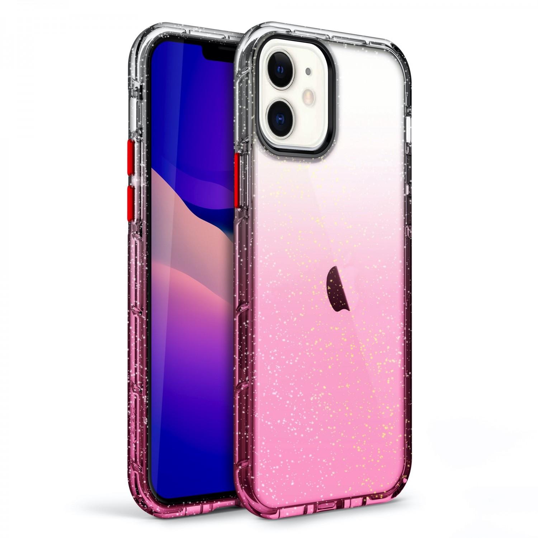 Case - Zizo® Surge Case for iPhone 12 & 12 PRO Pink Glitter