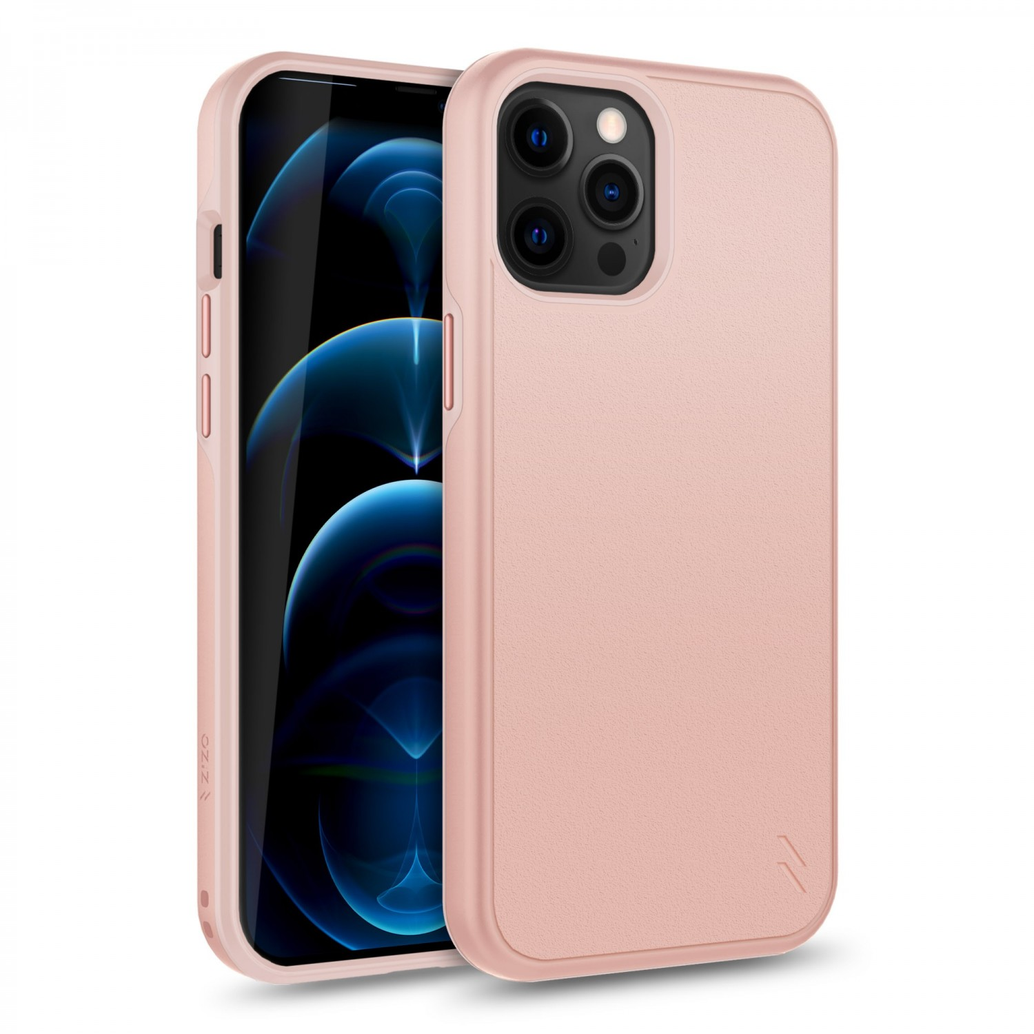 Case - Zizo® Division Case for iPhone 12 PRO MAX Rose Gold