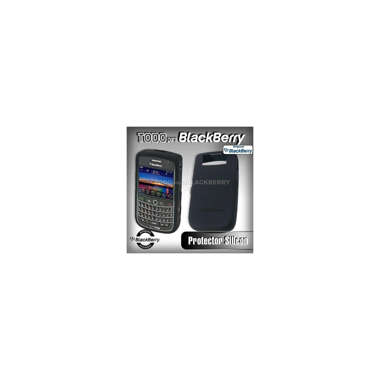 Funda Silicon 9630 original Blackberry 9630 Silicones Color - Negra