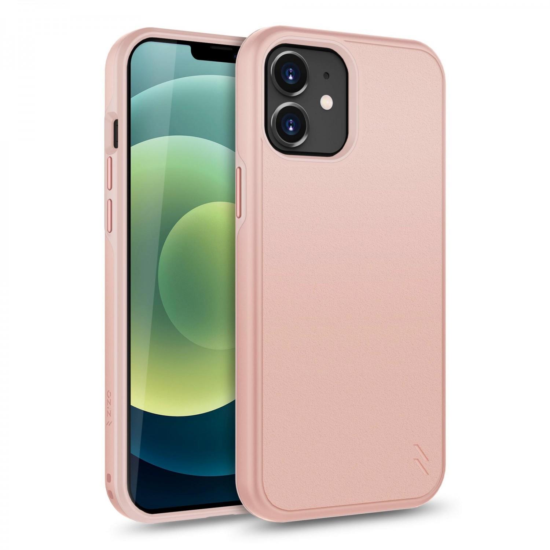 . Funda ZIZO Division compatible para iPhone 12 y 12 PRO rosa